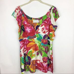 Jams World Special Edition Floral Top Size XL